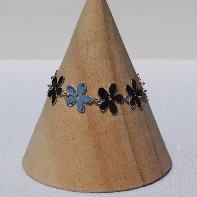 Bracelet argent Flower créateur bijoutier Lyon