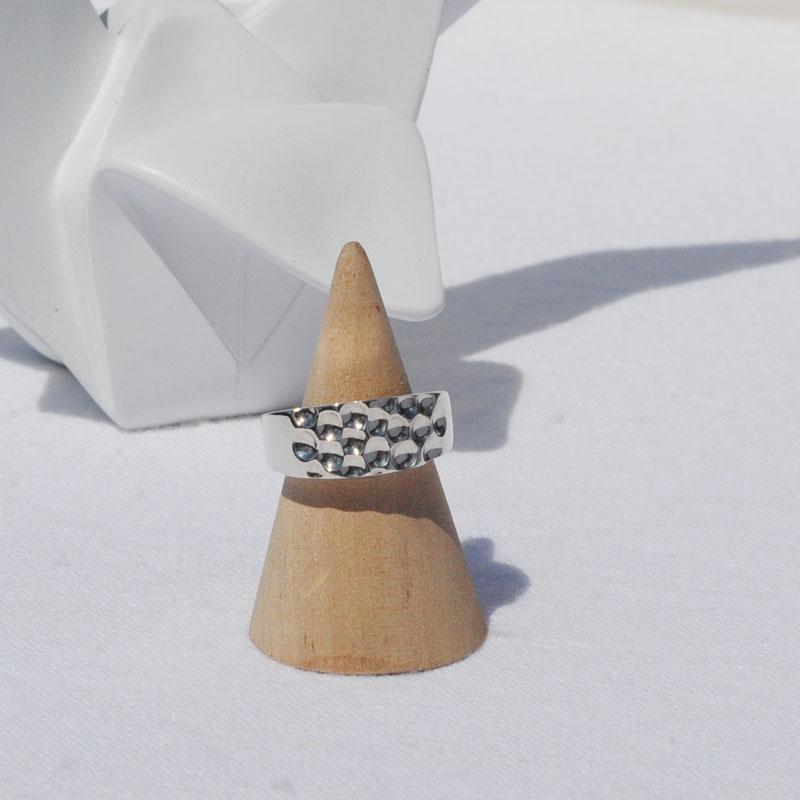 Bague argent Naïs créateur bijoux artisan Lyon