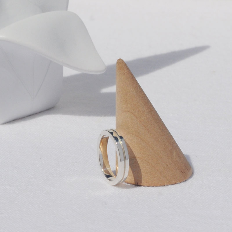 Bague argent Salomé artisan créateur bijoux Lyon