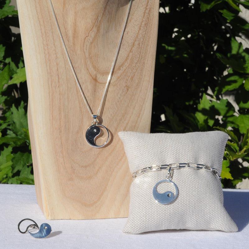bijoux argent Yin-Yang artisan bijoutier Lyon