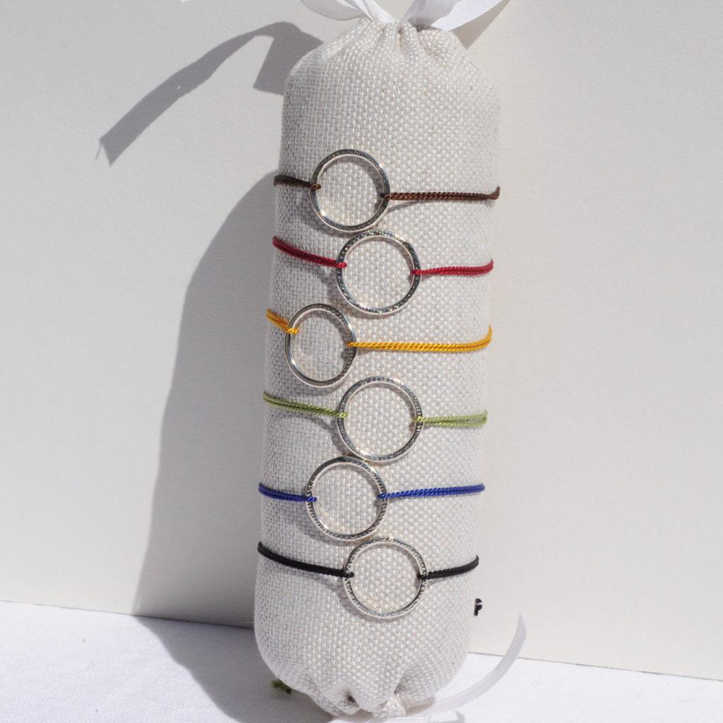 Bracelets Pablito Agate & Velours artisan créateur à Lyon